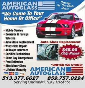 auto glass repair cincinnati