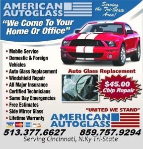 auto glass repair cincinnati